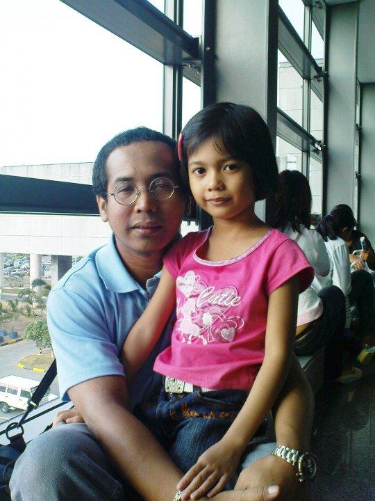 Daddy first flight to SG