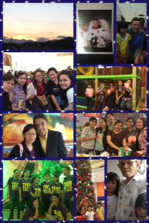 (L-R): Leadership bootcamp in Clark, Pampanga; meeting the Fossums (Mike & Terry); meeting new friends in the business; children's day out/birthday party at Fun Ranch; with ProSpeak President Joey Reyes; mini-reunion with fellow PLM-SCA leaders; with fellow Team Elites in Training; an afternoon at the mall; visit to Papa's house.