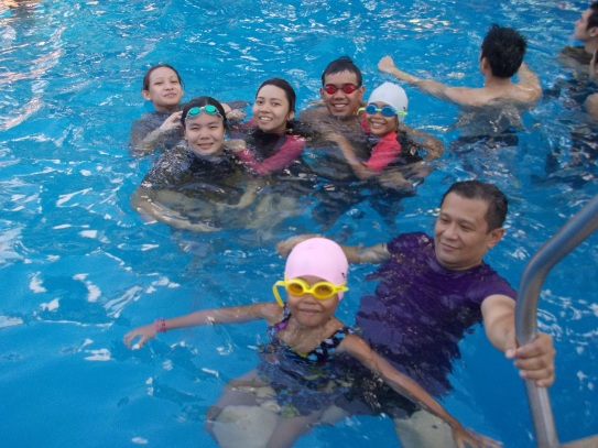 Family outing at Water Camp Resort