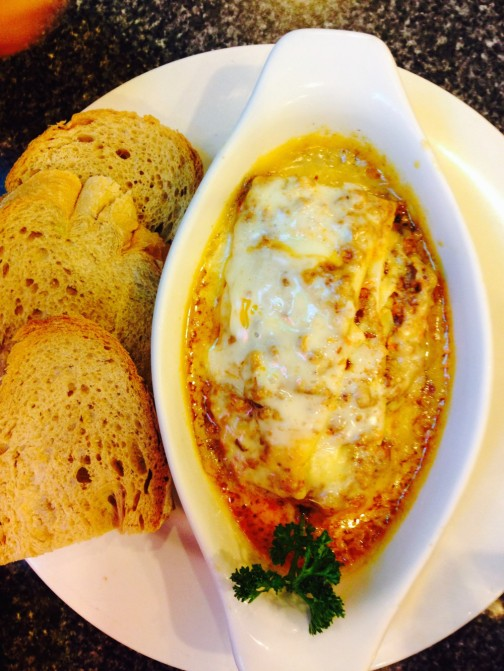 Almon Marina's lasagna