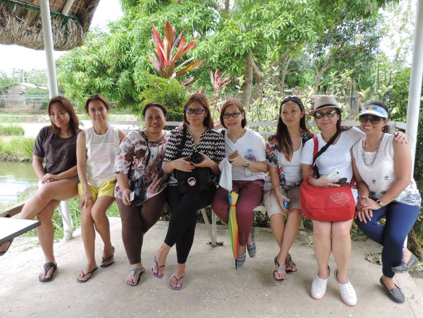 Bloggers at Dewi Sri Farm_SAHMotsari