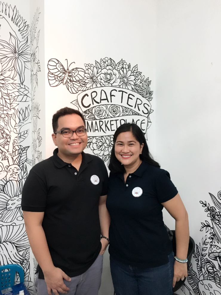 Ian de Jesus and Alma Ramirez of The Crafters Marketplace.jpeg