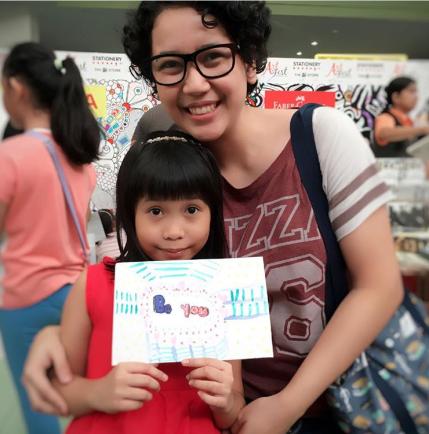 Lil Sis with artist Ella Lama.png