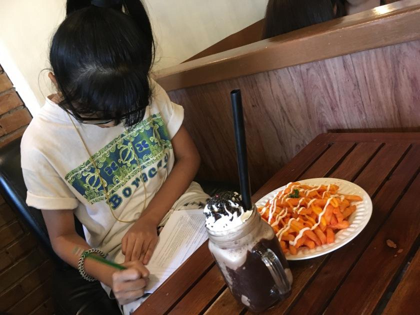 BigNLilSis at Wagamama Cafe