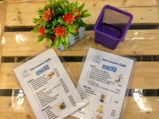 Pet Lovers Cafe menu_SAHMotsari